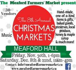 Farmers' Market xmas market ad