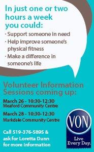 VON Volunteer Ad